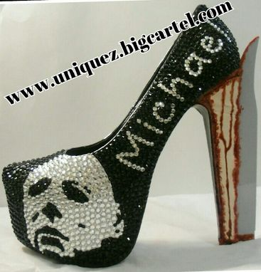 Custom Made Halloween Heels (3d Michael Myers Pumps)