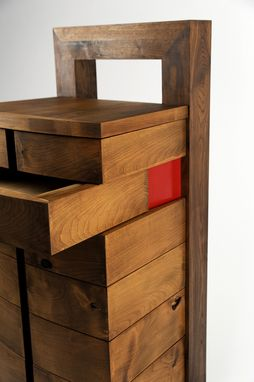 Custom Made Chest Of Drawers-Plan D
