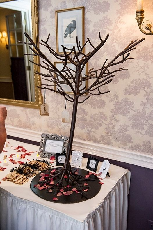 Custom Made Metal Wedding Wishing Tree