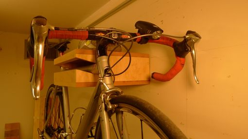 Custom Made Burlington Bike Shelf