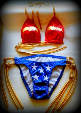 Custom Made Leather Bikini