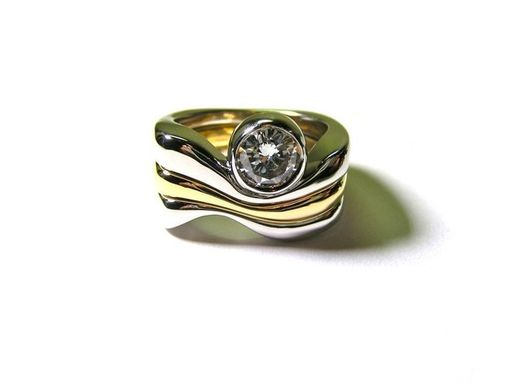 Custom Made Triple Wave Ring