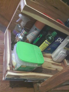 Custom Made Custom Wooden Storage Compartment