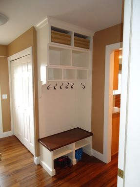 Custom Made Entry Room/ Mudroom Built In