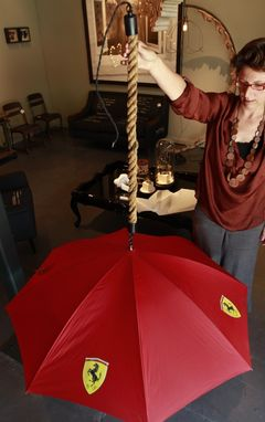 Custom Made Custom Ferrari Umbrella Lights