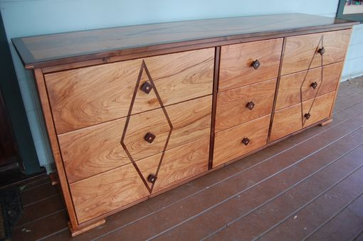 Custom Made Art Deco Low Boy Dresser