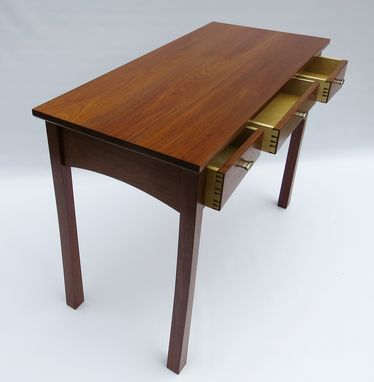Custom Made Walnut Writing Desk