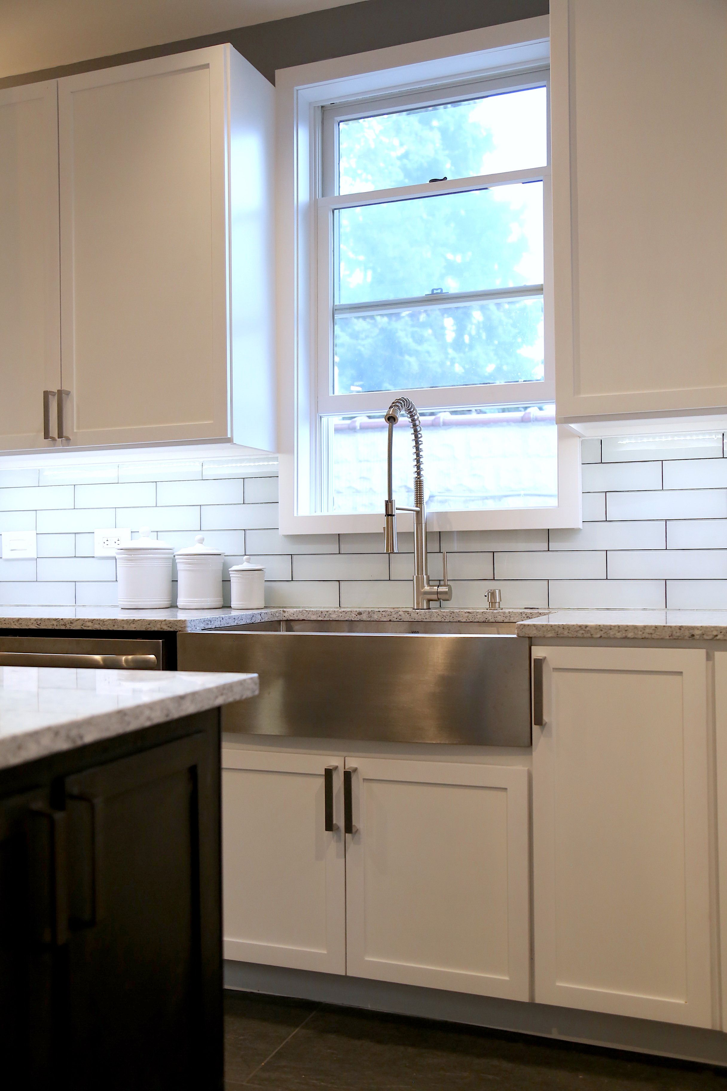 Hand Crafted Custom Shaker Style Kitchen Cabinets By
