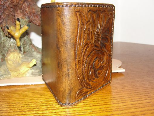 Custom Made Leather Men's Billfold