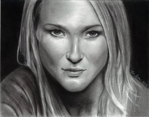 Custom Made Portrait Drawing Of Jewel (1 Subject)