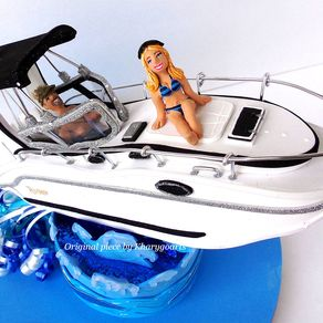 boat wedding cake topper custom boat custom made boats and boat craft custommade 12065