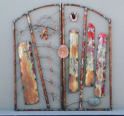 Custom Made Gate - Habitat Elements 2003