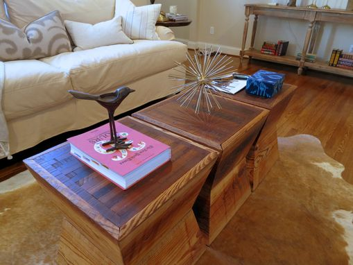 Custom Made Hourglass Tables