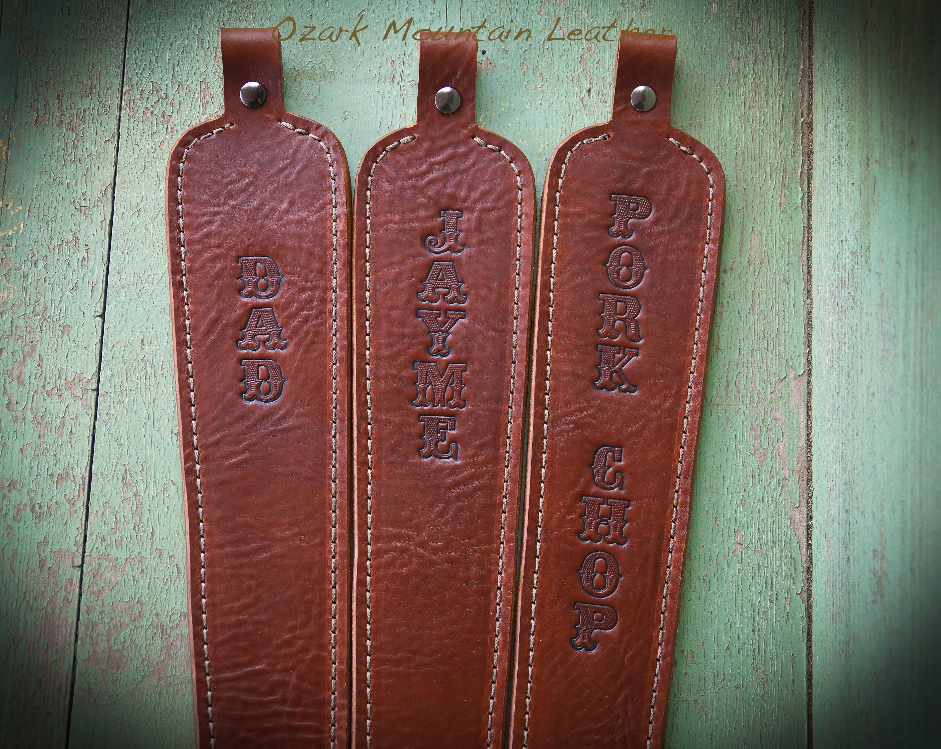 Buy A Hand Made Custom Made Leather Rifle Sling Made To