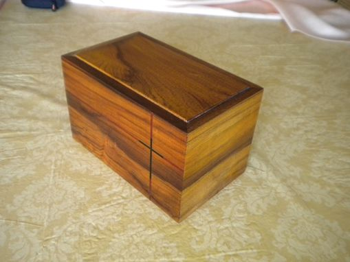 Custom Made Cremains Box