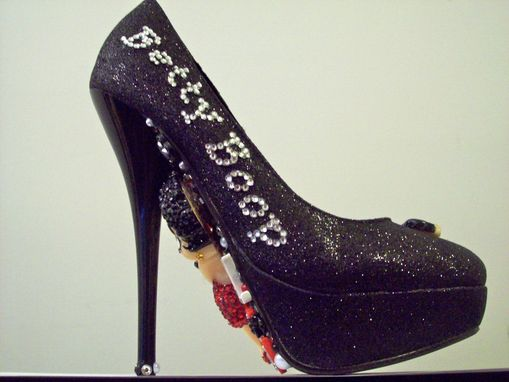 Custom Made Betty Boop (3d Pumps - All Colors)