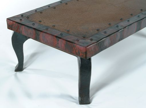 Custom Made Country Estates Heavy Hammered Coffee Table