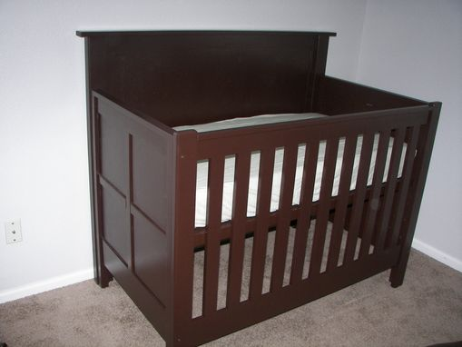 Custom Made Contemporary Baby's Crib