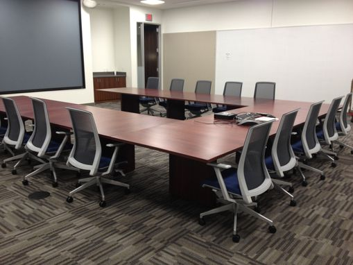Custom Made Three 4' X 12' Conference Tables