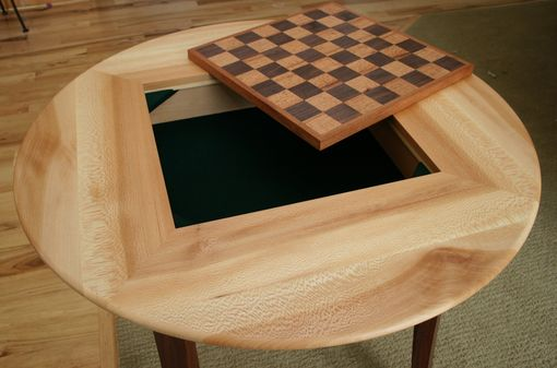 Custom Made Multi-Wood Game Table