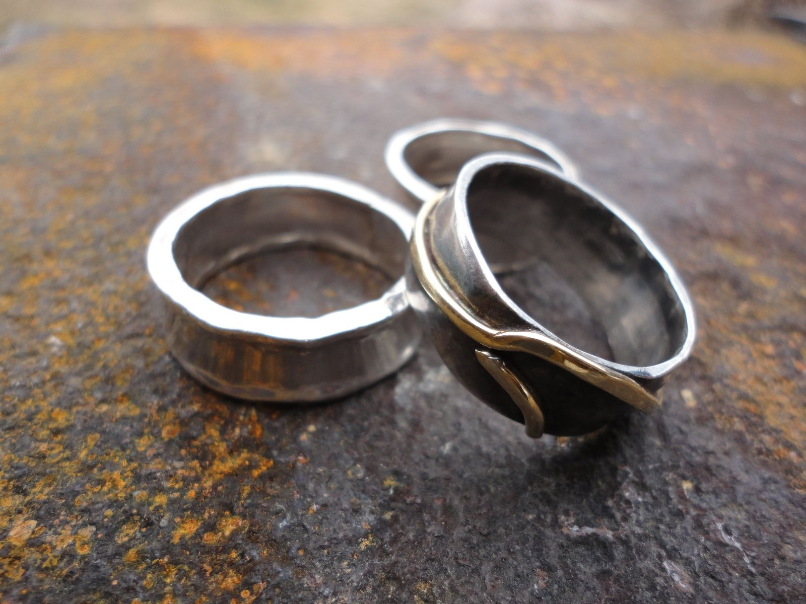 damascus rings simple steel forged band fullxfull hand unique listing wedding womens il zoom