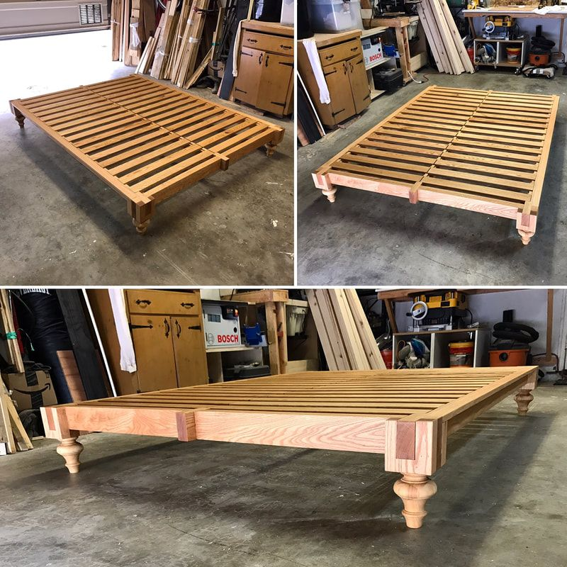 new product 3b9a7 61315 Handmade Solid Wood Tatami Style Platform Bed by Allan Workz ...