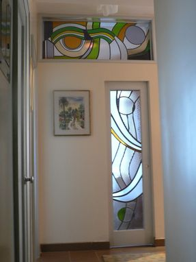 Custom Made Transom Window