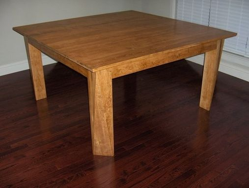 Custom Made Custom Maple Dining Table