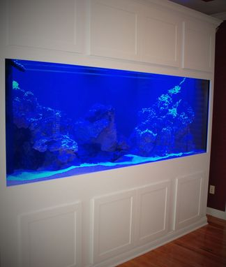 Custom Made White Aquarium Stand