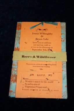Custom Made Wedding Invitations