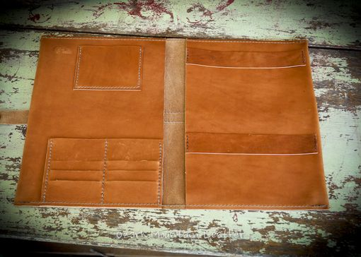 Custom Made Custom Leather Padfolio Made With Or Without Name