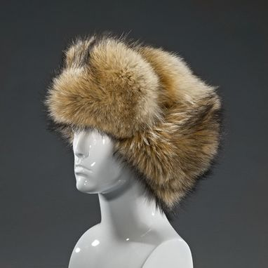 Custom Made Coyote Fur Trooper Hat