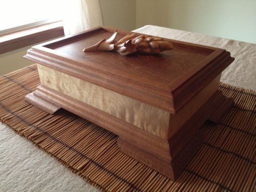Custom Made Unique Jewelry Boxes, Hand Carved By Scott, Lazy River Studio