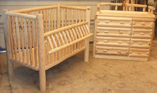 Custom Made Handmade Log Nursery
