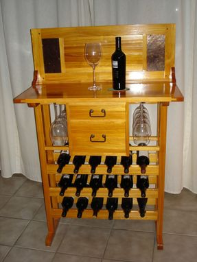 Custom Made Wine Serving Table