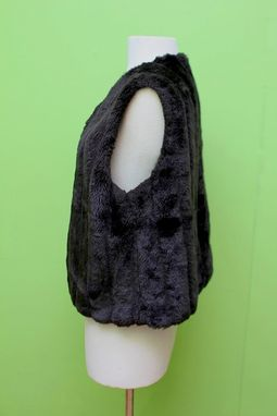 Custom Made Faux Fur Vest