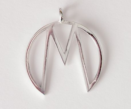 "Custom Made Custom ""M"" Pendant"