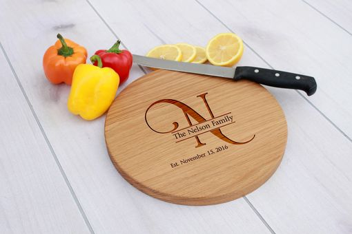 Custom Made Personalized Cutting Board, Engraved Cutting Board, Custom Wedding Gift – Cbr-Wo-Nelsonfamily
