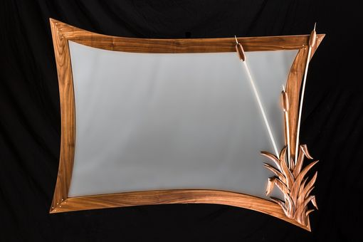 Custom Made Hand Carved Mirror