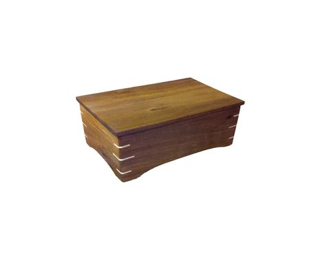 Custom Made Premium Walnut Woood Gift Box, Bath Box Or Men's Dresser Box