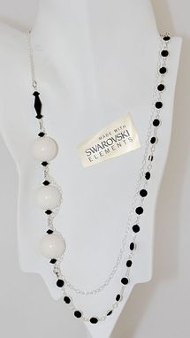 Custom Made White Grapes - Niagara - Long Story Necklace
