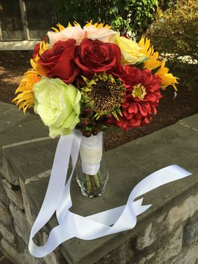 Custom Made Silk Floral Replica Bouquet