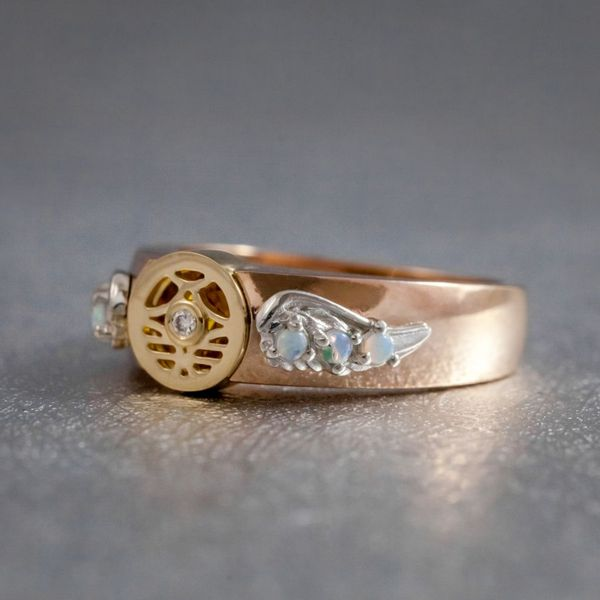 Geeky Engagement Rings Nerdy Wedding Bands Custommade
