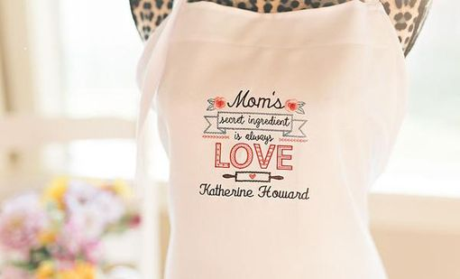 Custom Made Personalized Embroidered Aprons