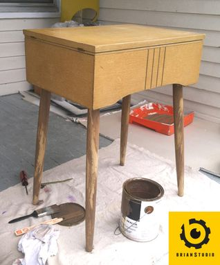 Custom Made Sewing Cabinet Redux