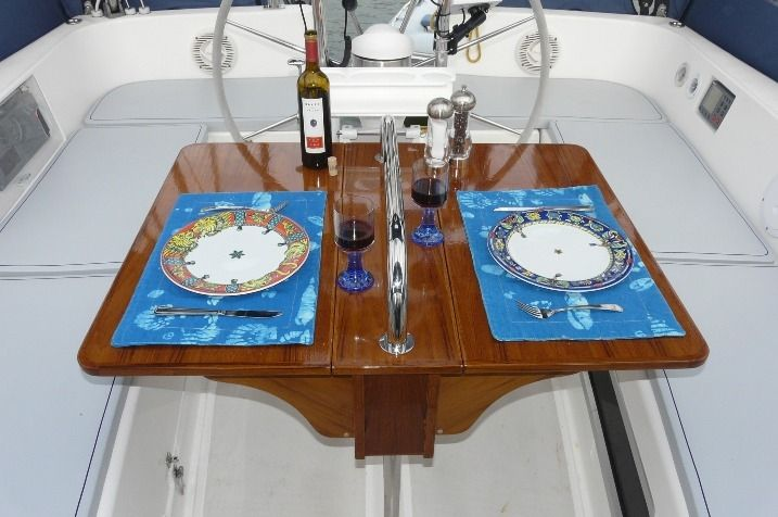 Handmade Cockpit Table By Anglo Marine Custommade Com