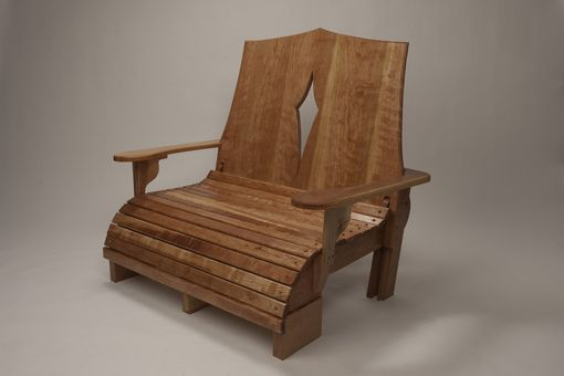 Custom Made Outdoor Adirondack Loveseat