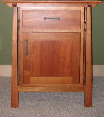 Custom Made Cherry Nightstand