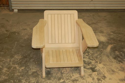 "Custom Made Quarter Sawn White Oak 40"" Chair"