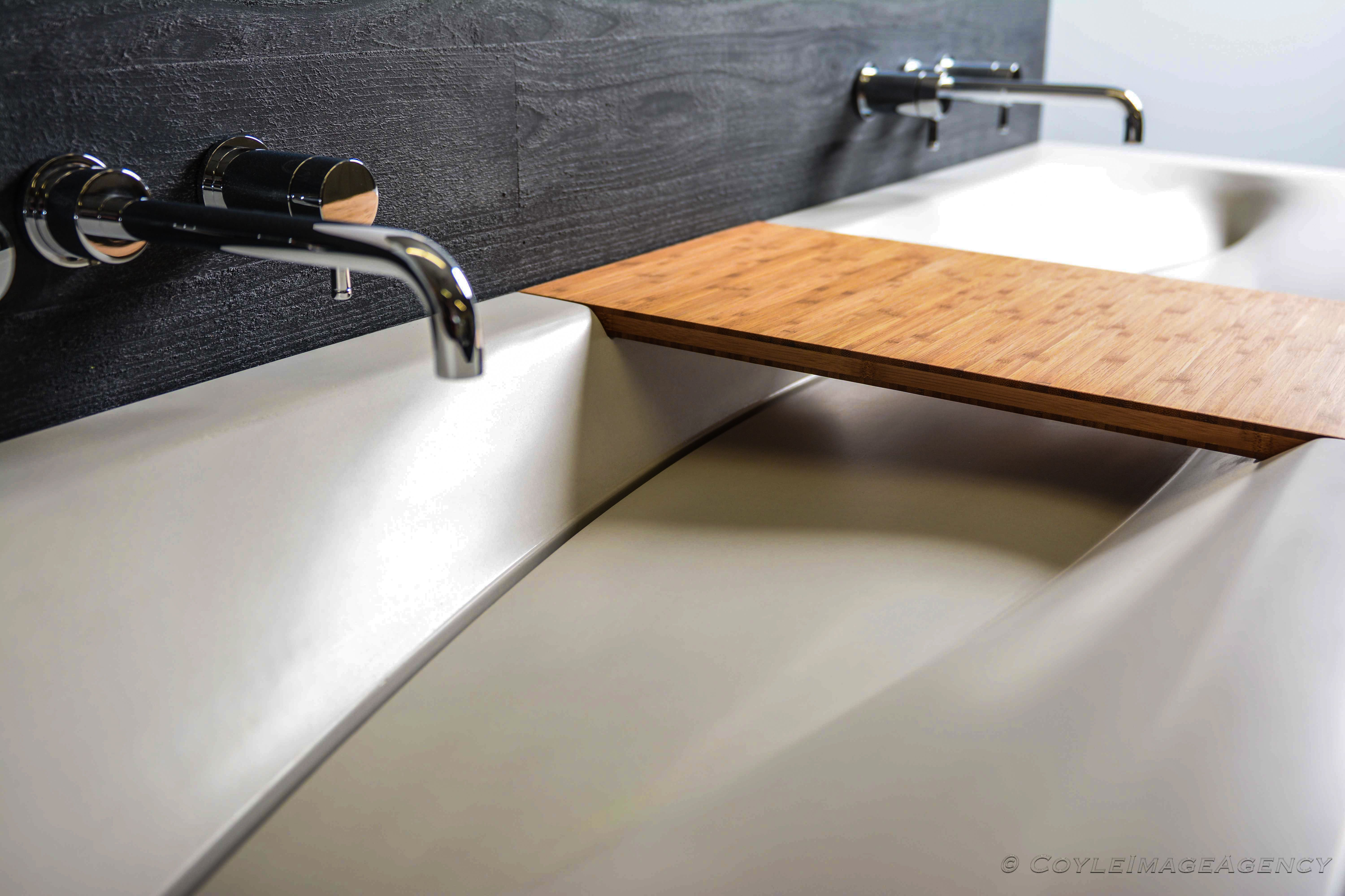 Custom Made Convergence Concrete Sink By Agitated